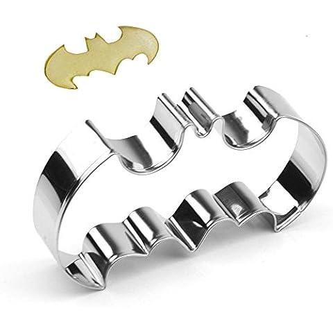 GXHUANG - Stampo per tagliare i biscotti di Batman, in