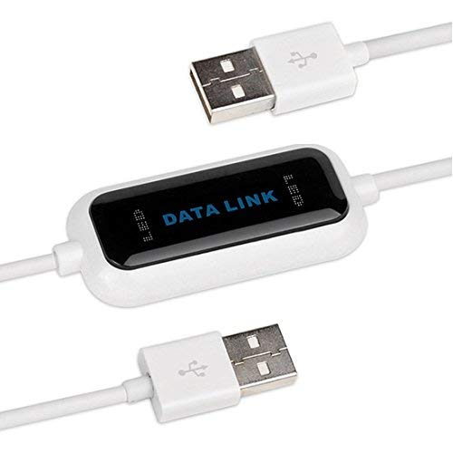 Easy-Link USB 2.0 Link-Kabel Daten-Kabel PC zu PC / Windows zu Windows Direkt Transfer Copy - Driver Free - USB 2.0 Data Link Data Transfer Cable from PC to PC for Windows