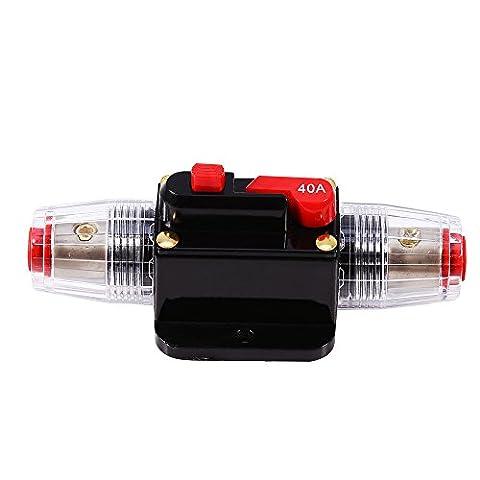 12V-24V 40A DC Inline Auto Leistungsschalter Audio Manuelle Circuit Breaker Reset Sicherung (Elektrische Breaker Ersatz)