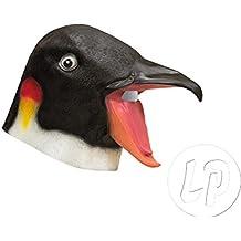 Lote / Conjunto de 3 piezas - látex máscara pingüino