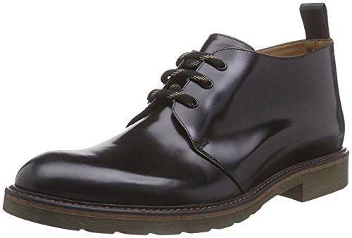 Hemsted & Sons , Chaussures à lacets homme bleu foncé