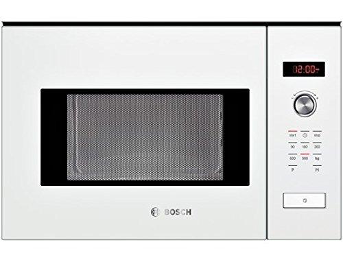 Bosch HMT84M624B - Microondas (Integrado, 25 L, 900 W, Giratorio, Tocar, Blanco,...