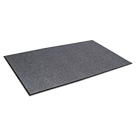 Crown Needle Rib Wipe and Scrape Mat, Polypropylene, 48 x 72, Gray (NR0046GY) by Crown
