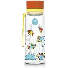 Botella rellenable EQUA libre de BPA - diseño Equarium (0,4 L)