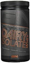 GN Laboratories 100% Dairy Isolate mikrofiltriertes Wheyprotein Isolat Protein Eiweiß Proteinshake Eiweißshake Bodybuilding 750g Chocolate Crema - Schokolade