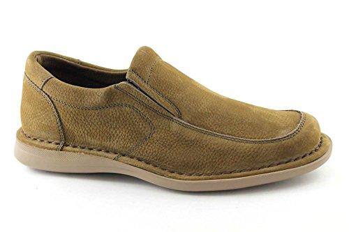 FRAU 13E5 FX chaussures de tabac homme mocassins maxi confort XL Beige