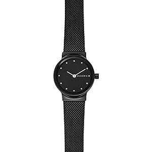Skagen Damen Analog Quarz Uhr mit Edelstahl Armband SKW2747