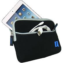 iGadgitz A1955 Sleeve case Negro funda para tablet - fundas para tablets (Sleeve case, Negro, Neopreno, Poliuretano, Apple, iPad Mini 1, 2 Retina & iPad Mini 3, A prueba de salpicaduras)