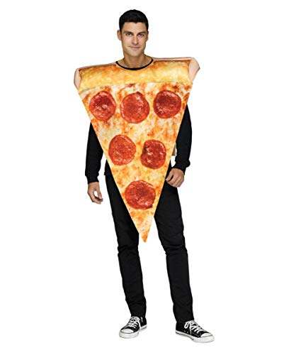 (Horror-Shop Pizza Kostüm Unisex für Fasching & Halloween One Size)