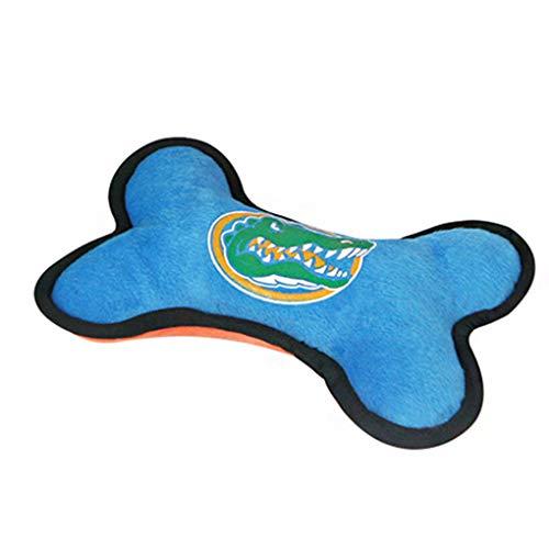 LEVEL GREAT Haustier-Plüsch-Spielzeug-Karikatur-Knochen-Form Ausbildung Spielzeug Kauen Beißen Mahlzähne Schleifen Squeak Knochen -