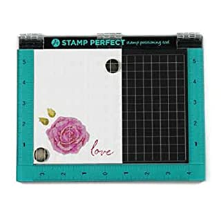 Hampton Art 7x9 Stamp Perfect Positioning Tool, Synthetic Material, Multi-Colour, 21.4 x 30.6 x 2.5 cm