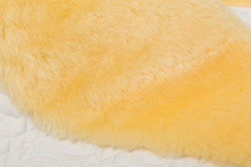 Merauno Sheepskin Girth Sleeve Sheepskin Under Belly Strap Protector - 60 cm 7