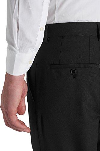 next Homme Costume 100% laine: Pantalon Noir