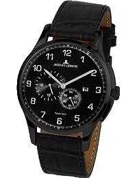 Jacques Lemans Herren-Armbanduhr XL Classic Analog Automatik Leder 1-1731B