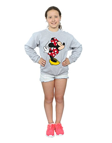 Disney niñas Minnie Mouse Split Kiss Camisa De Entrenamiento