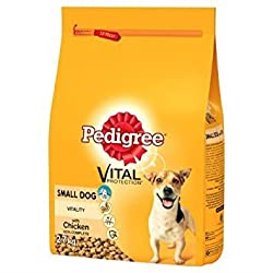 Pedigree Complete Dry Small Dog Food with Chicken 2.7kg