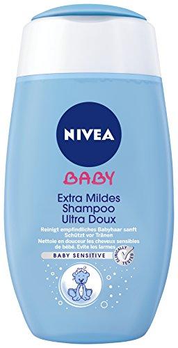 Nivea Baby Extra mildes Shampoo, 4er Pack (4 x 200 ml)
