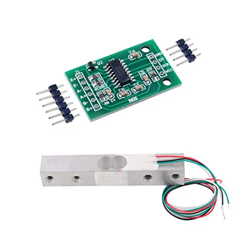 Bobury 1/5/10/20 kg Kleine Wägebereich Drucksensor und HX711AD Modul Wägezelle und HX711-Modul -