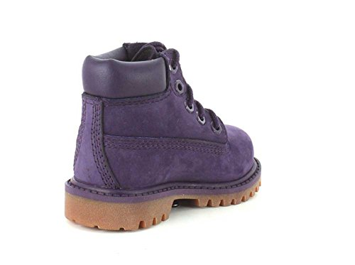 Timberland Stivali 6 In Classic Boot FTC_6 In Premium WP Boot, Stivali Unisex Bambino Purple Nubuck