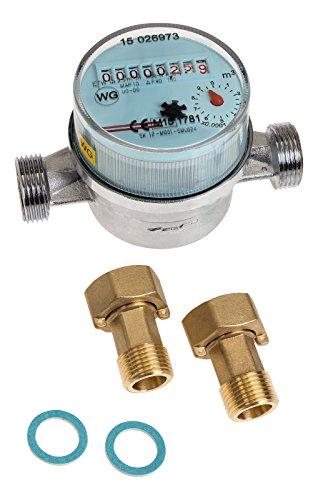 Wasserzähler Koax, Techem