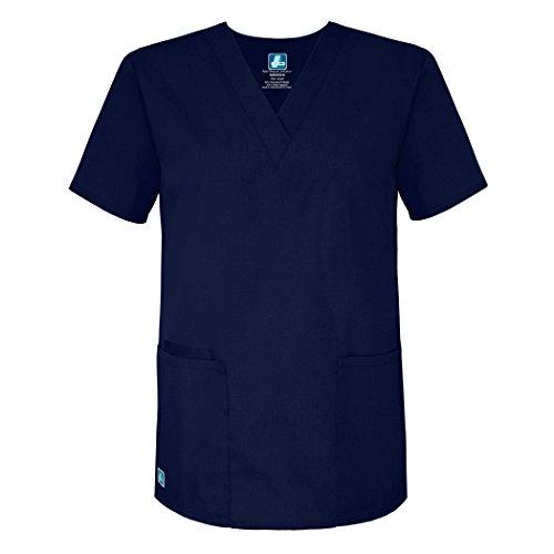 Damen Kostüm Arzt - Medizinische Uniformen Unisex Top Krankenschwester Krankenhaus Berufskleidung 2600 Color Nvy | Talla: S