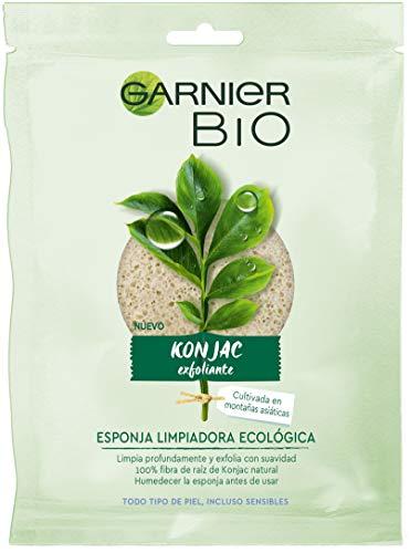 Garnier BIO Esponja Exfoliante Limpiadora de Konjac Natural - 2 de 1 unidad (Total: 2 unidades)