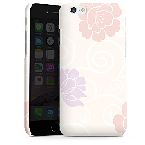 Apple iPhone X Silikon Hülle Case Schutzhülle Flower Blumen Muster Premium Case matt