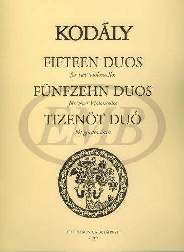 15 Duos (Aus 33 Zweistimmige Singubungen Bearbei