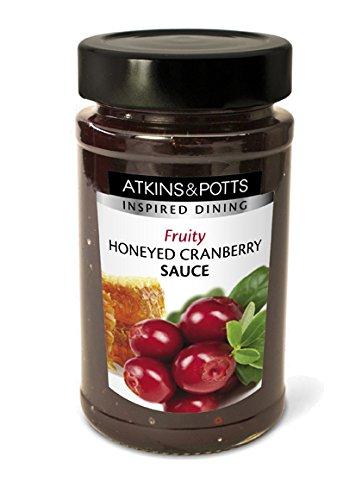 Atkins & Potts - Honeyed Cranberry Sauce - 250g (Case of 6)