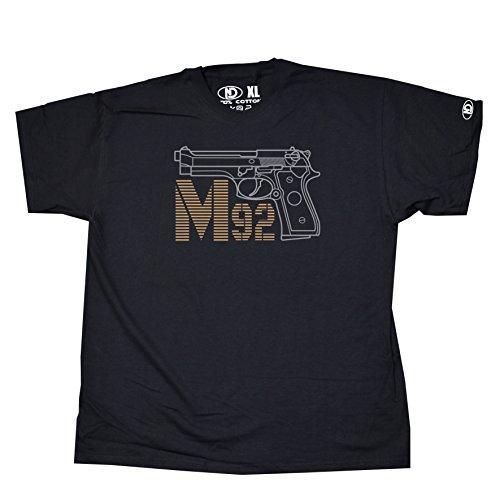 Nicram Designs Herren T-Shirt Schwarz