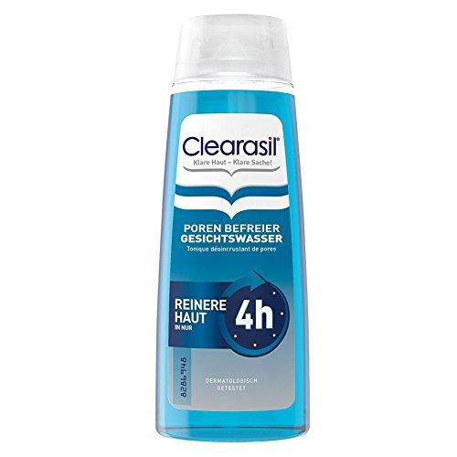 Clearasil Poren Befreier Gesichtswasser, Gegen Pickel und Hautunreinheiten, 6er Pack (6 x 200 ml)