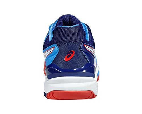 Asics Gel-resolution 6, Damen Tennisschuhe POWDER BLUE/WHITE/HI