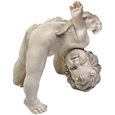 Toscano Turvey Il Cherubino statua Tumbling