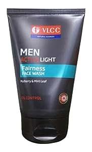 Vlcc Men Active Light Fairness Face Wash 100 ml