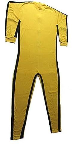 Shihan Costume d'entraînement tout en 1 de Bruce Lee pour homme Taille XL