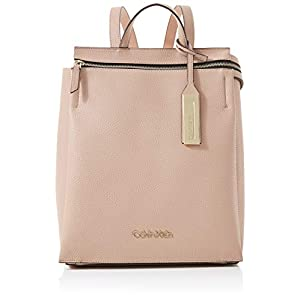 Calvin Klein Sided Backpack, Women's Pink (Nude), 1x1x1 cm (W x H L)