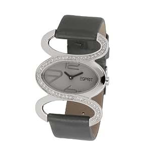 esprit damen armbanduhr xs analog quarz leder es100252002 uhren. Black Bedroom Furniture Sets. Home Design Ideas