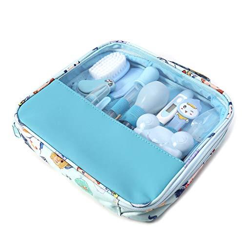 Jiamins 13 teile/satz Neugeborenen Baby Kinder Pflegeset, Nagel Haar Gesundheit Pflege Thermometer Pflege Pinsel Kit (Pinsel Glätten Haar)