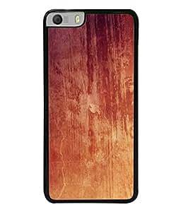 Snapdilla Designer Back Case Cover for Micromax Canvas Knight 2 E471 (Texture Illustration Handmade Brown Backcase Pouch )