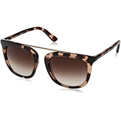 DKNY 0Dy4146 Gafas de sol, Pink Tortoise, 53 para Mujer