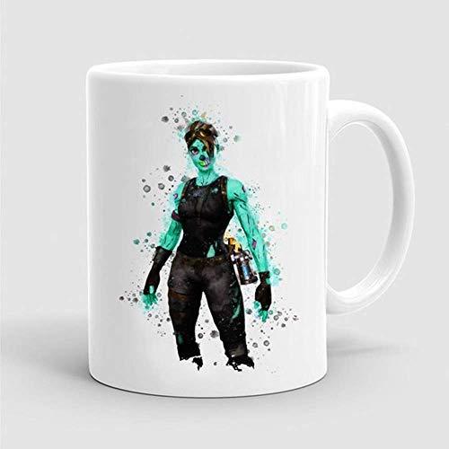 Tasse Game Skin Kaffeetasse Aquarell Gamer Geek Tasse ()