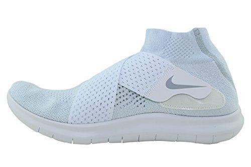 Nike Free RN 2017, Chaussures de Running Homme, Blanc (White/White-Black-Pure Gris Platinum 100), 43 EU