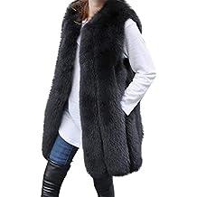 Manteau Femmes Hiver Fashion Femmes Chaud Gilet Veste Manteau Veste Gilet  Fausse Fourrure Outwear Cardigan 3088de9adbb6