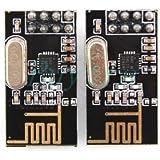 2 x NRF24L01+ Wireless Module 2.4G Communication Module Upgrade Module TOP! AU11