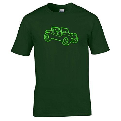 Strandbuggy T-shirt Forest Grün