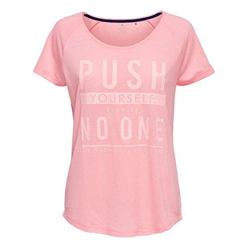 Only Play Donna Tshirt Fantasia A Maniche Corte Taglia 1 Rosa