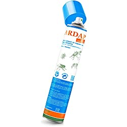 ARDAP Ungezieferspray – Bis zu 6 Wochen wirksames, langanhaltendes Spray zur Bekämpfung bei akutem Ungezieferbefall für Zuhause oder in Umgebung von Tieren – 1 x 750 ml