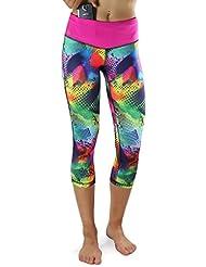 Formbelt® Corsaire running pour femme / leggings / pantalon de running - yoga - sport - fitness | court, imprimé