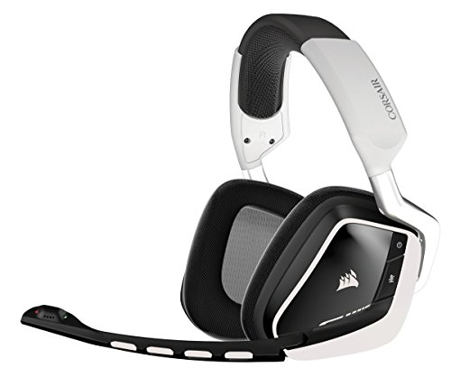 Corsair CA-9011145-EU Gaming VOID Wireless Casque Gaming PC Confortable Blanc