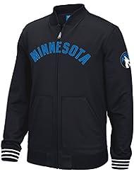 "Minnesota Timberwolves Adidas NBA ""Originals"" Men's Performance F/Z Track Jacket Veste"